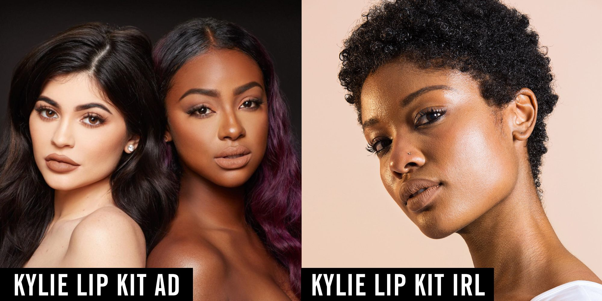This Is What 16 Women Look Like Wearing Kylie Jenners Perfect Nude De Velvet Beverly For Darker Skin Tones