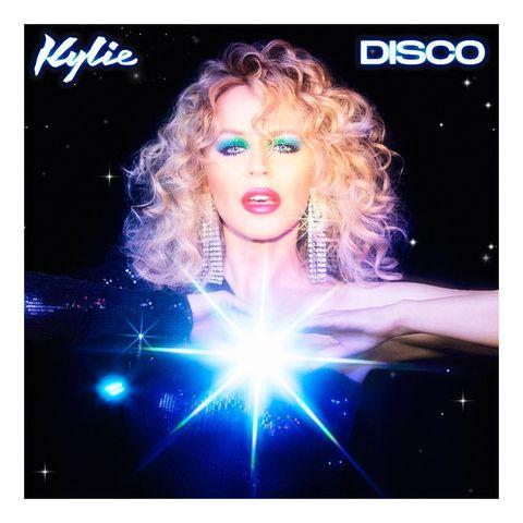 kylie minogue's disco album cover