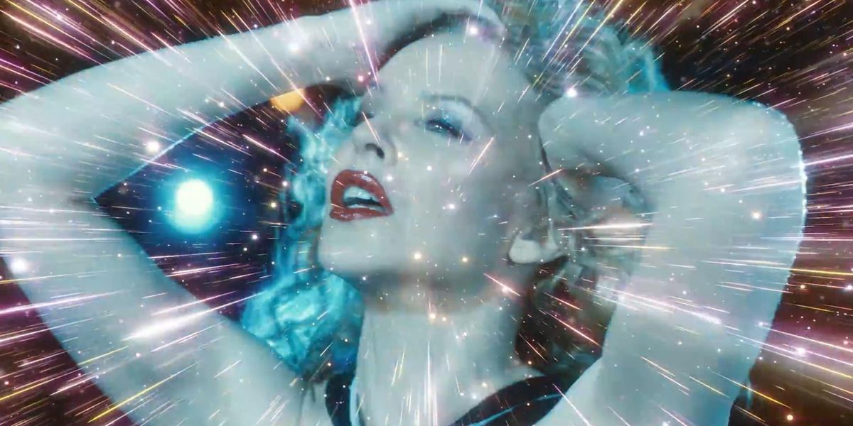 Kylie Minogue unveils sparkly new music video for the song 'Say Something'