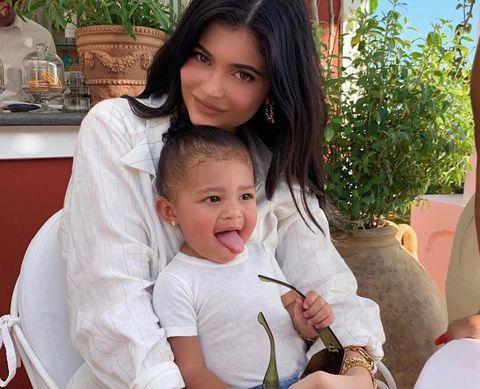 Kylie Jenner Bought Stormi Webster New $2,000 Fendi Stroller