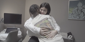 kylie jenner baby video