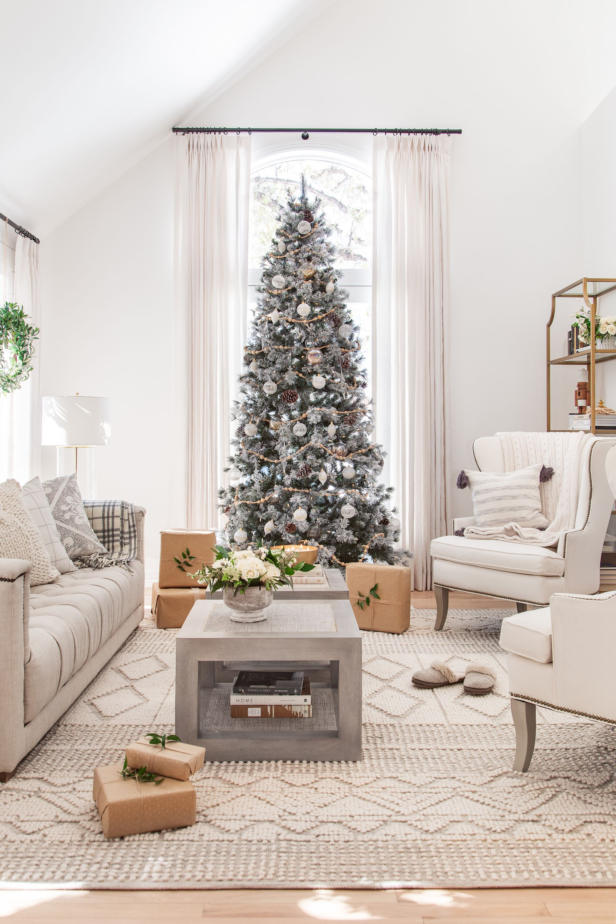 36 Best Christmas Living Room Decor Ideas Holiday Decorating