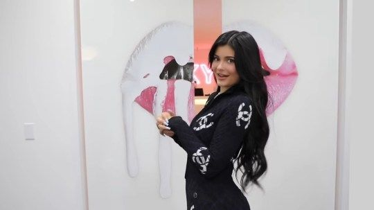 Kylie Jenner Has Bowls Of M&Ms With Her Face On Them And A Champagne Vending Machine Inside Her Office