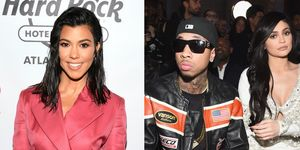 Kourtney Kardashian had the shadiest response to Tyga taking credit for Kylie Jenner's success