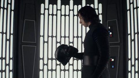 'Star Wars: el ascenso de Skywalker' art concept - Casco Kylo Ren