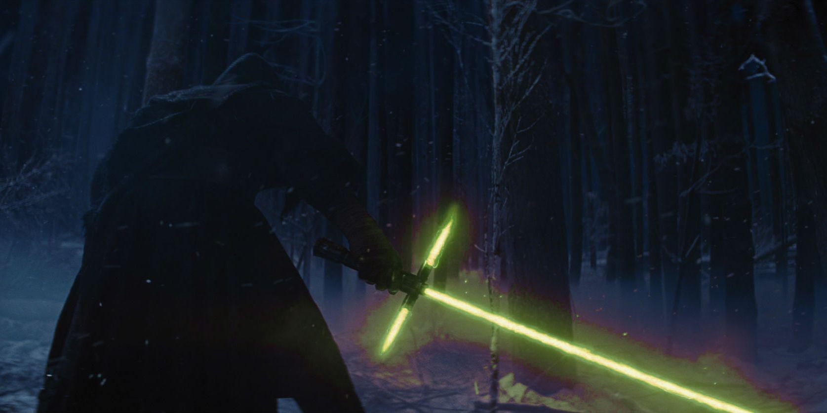 Kylo Ren espada verde
