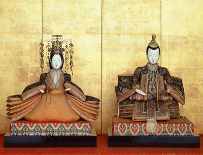 享保雛(大内雛) 京都国立博物館蔵