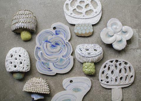 Crochet, Ceramic,