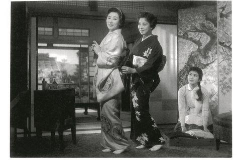 「細雪」京マチ子さんと山本富士子さん