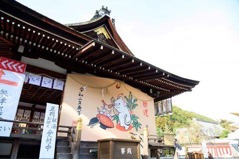 京都・松尾大社の大絵馬