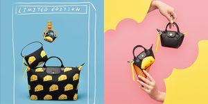 【ELLE包打聽】Longchamp破天荒推出滿版起司印花摺疊包 迷你包+起司元素完全讓人沒有抵抗力!
