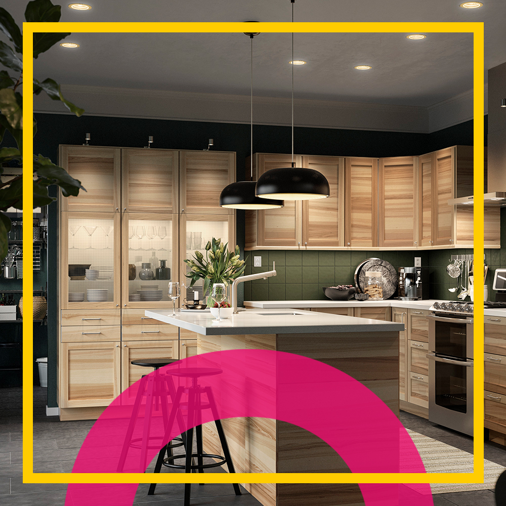 Good Housekeeping & IKEA Kitchen Inspiration: How to Choose Your Kitchen\u0027s Lighting System