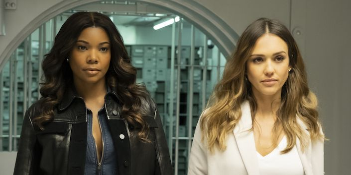 L A S Finest With Gabrielle Union And Jessica Alba Date