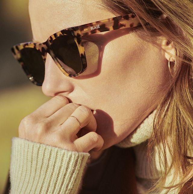 occhiali da sole tartaruga
