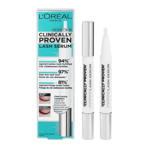 l'orÉal paris clinically proven lash serum wimperserum