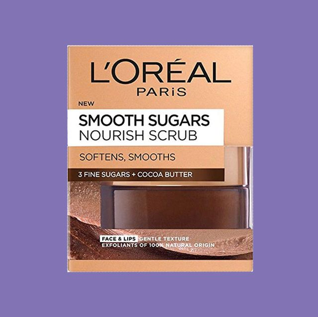 l'oreal smooth sugar nourish cocoa face and lip scrub review