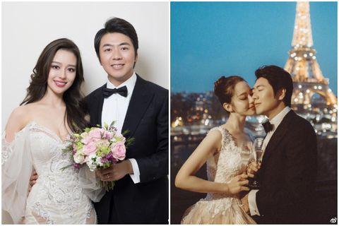 郎朗結婚婚紗照