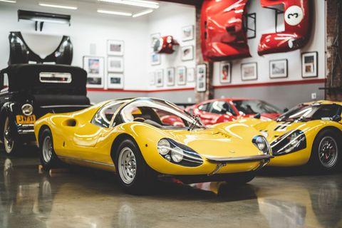 Inside James Glickenhaus' car collection