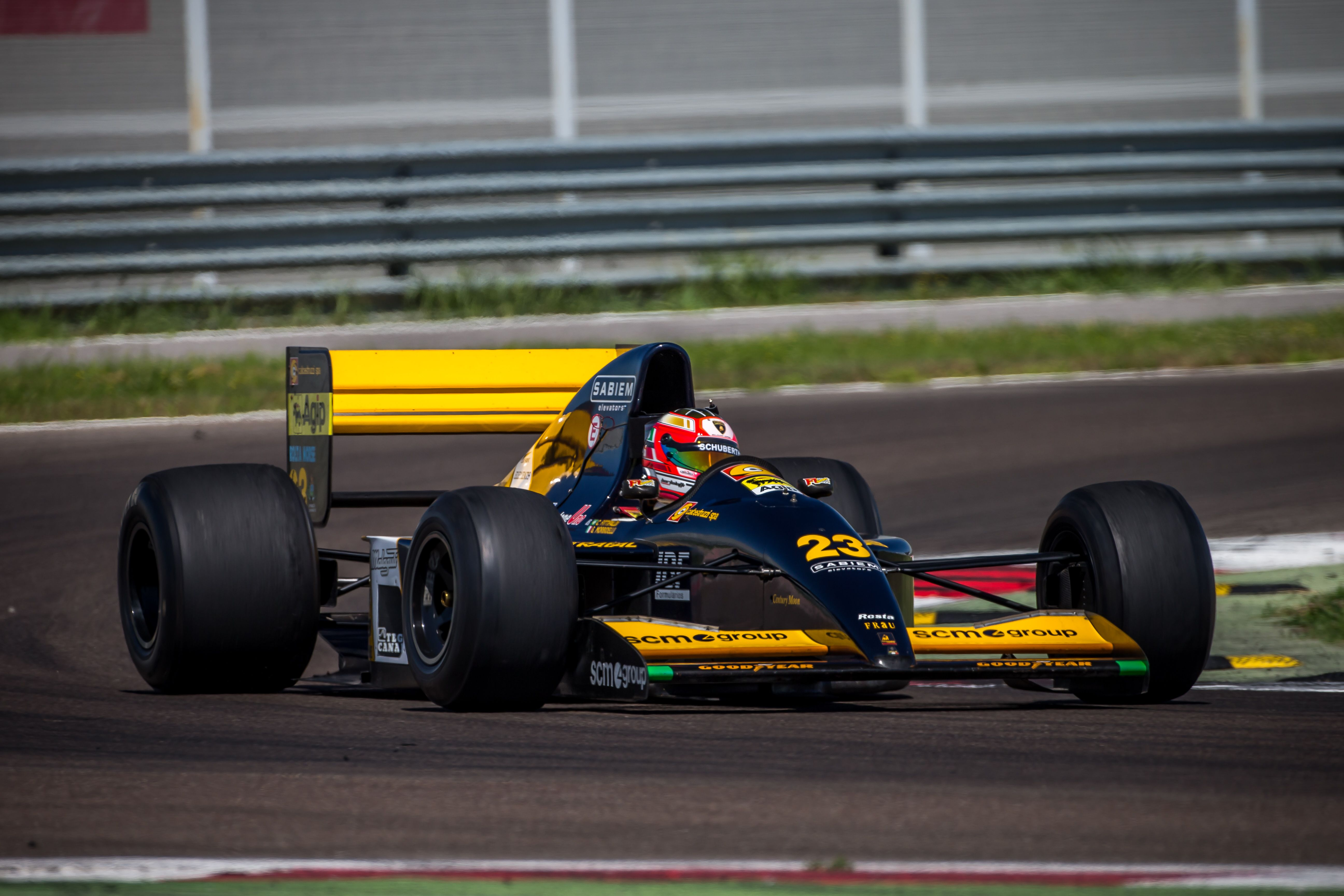 Lamborghini Restores Its V12 Powered Minardi F1 Car