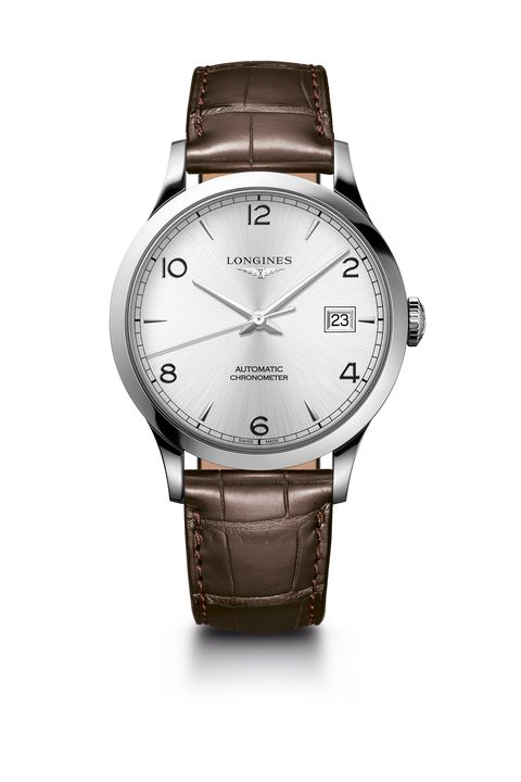 Watch, Analog watch, Watch accessory, Strap, Fashion accessory, Brown, Jewellery, Brand, Font, Material property,