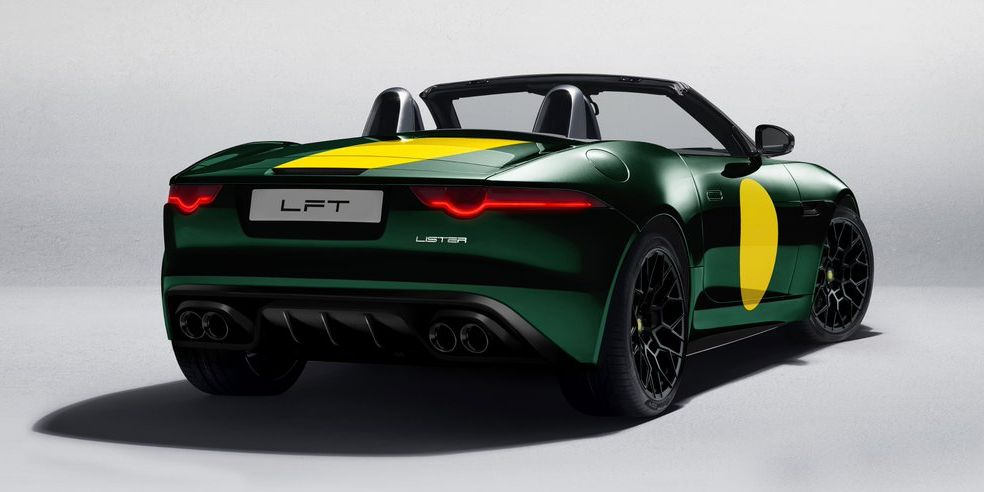 Lister Is Building a Super-Limited Run of LFT-666 Convertibles