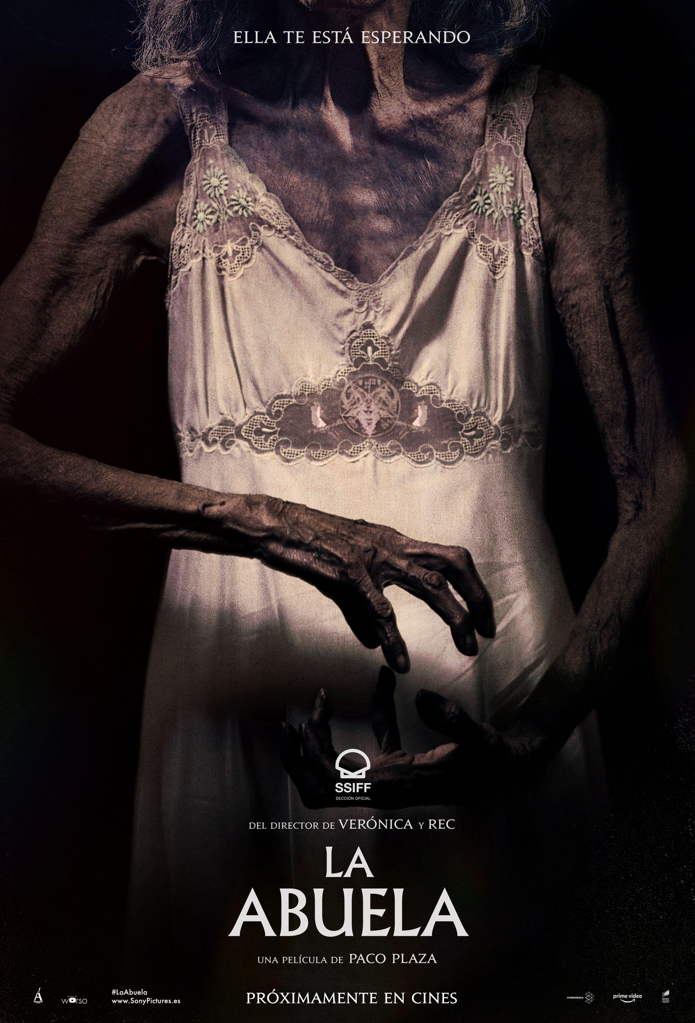La Abuela': Cartel teaser de lo nuevo de Paco Plaza