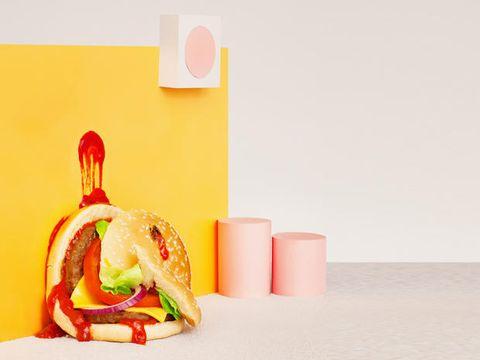 Food, Dish, Cuisine, Fast food, Ingredient, Junk food, Side dish, Produce, Still life photography, Finger food,