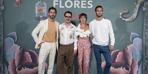 Paco León y María León en el estreno de la temporada 2 de 'La casa de las flores'
