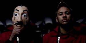 Neymar ficha la temporada 3 de 'La Casa de Papel'