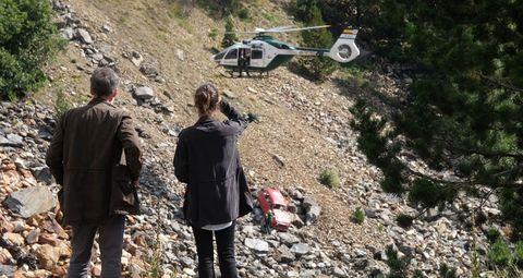 'La caza. Monteperdido', comienza la búsqueda de las niñas Ana y Lucía
