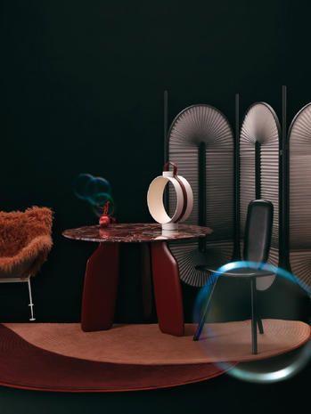 Furniture, Table, Room, Still life photography, Chair, Design, Interior design, Illustration, Art, Still life,