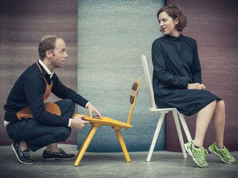 Sitting, Fashion, Conversation, Furniture, Photography, Design, Fashion design, Table, Chair, Shoe,