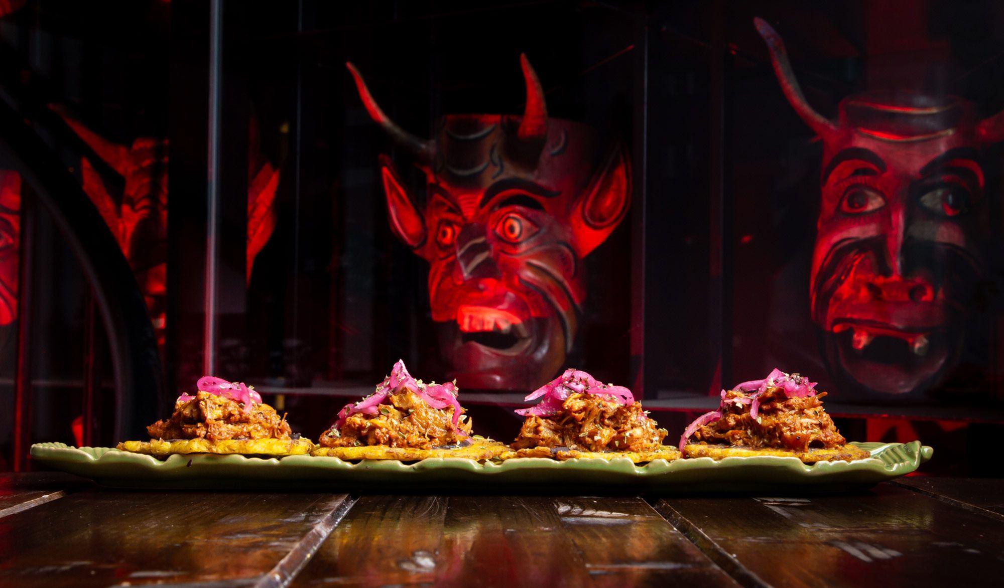 La Diavla, el restaurante club mexicano para pecar cerca del Retiro