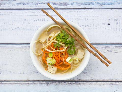 Dish, Food, Cuisine, Noodle soup, Chinese noodles, Noodle, Ingredient, Rice noodles, Chopsticks, Shirataki noodles,