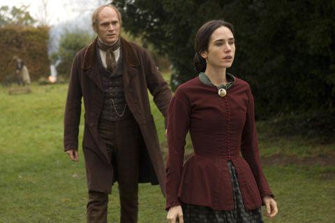 paul bettany y jennifer connelly en la película la duda de darwin
