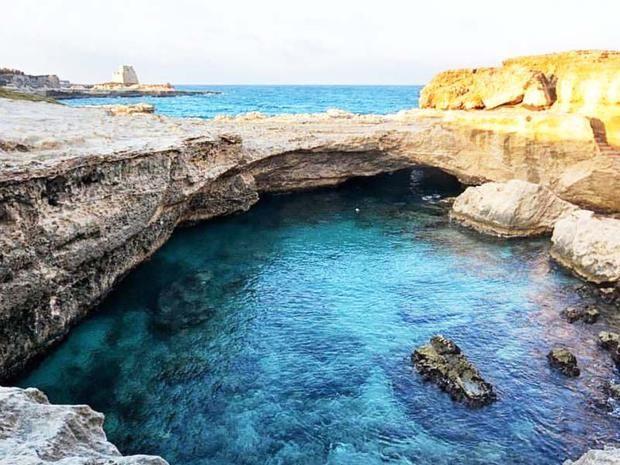 Grotta della poesia tutte le info sulla piscina naturale - Piscina naturale puglia ...