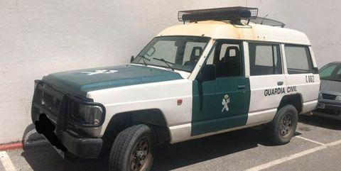 coches patrulla guardia civil