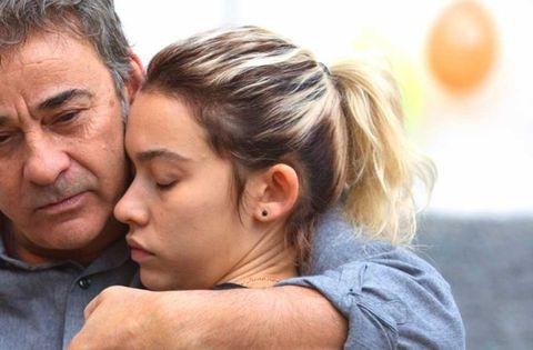 """Eduard y Greta Fernández en """"La hija de un ladrón"""""""