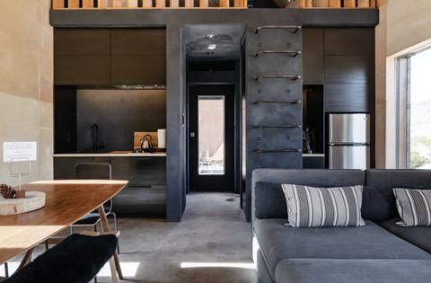 inside of la airbnb