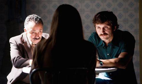 'La isla mínima' (2014), con Javier Gutiérrez y Raúl Arévalo.
