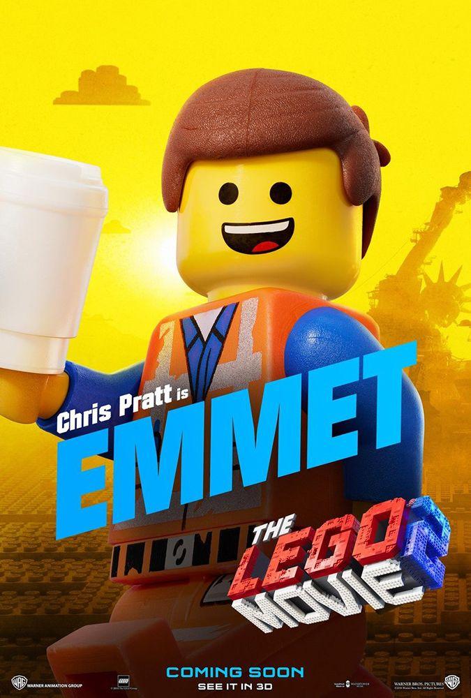 Aquí están los posters de personajes de 'La Lego Película 2' - La Lego Pelicula