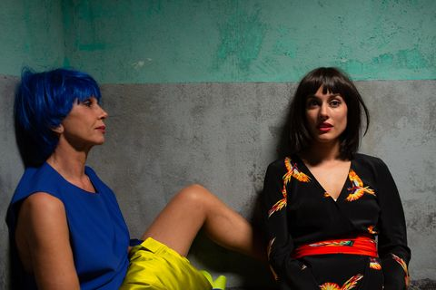 Victoria Abril y Silvia Alonso en 'La lista'