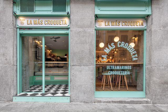 la más croqueta, bar de croquetas en la plaza mayor de madrid