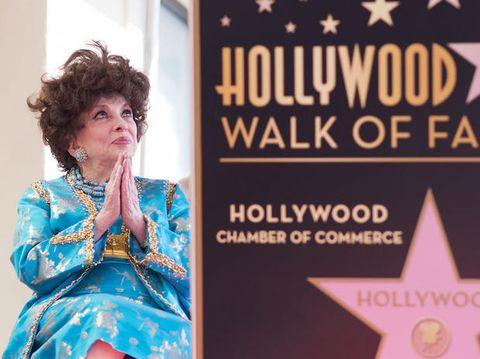Gina Lollobrigida oggi ripercorre la sua carriera E-P-O-C-A-L-E