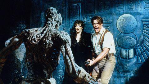 La momia (1999) Brendan Fraser y Rachel Weisz