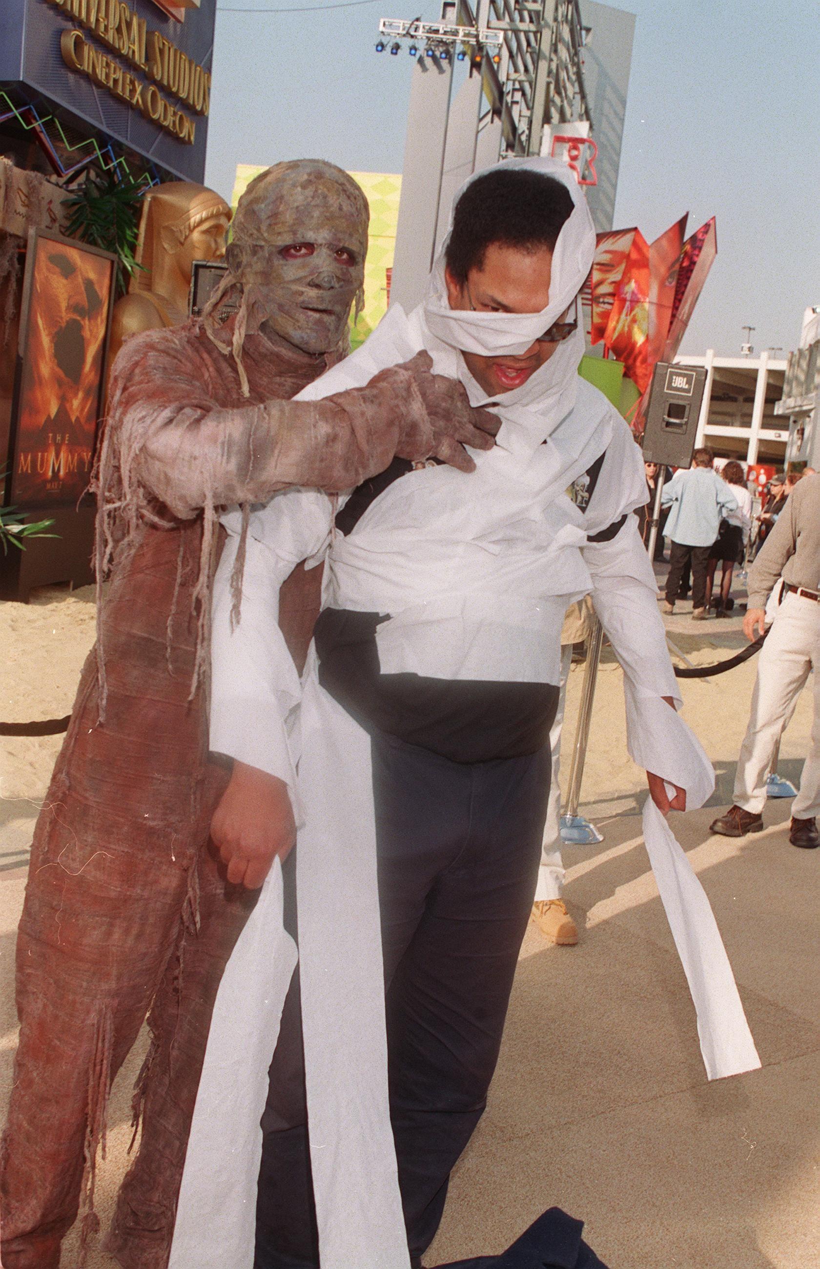 Fotos de la premiere de 'La momia' en 1999