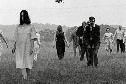 foto de la noche de los muertos vivientes