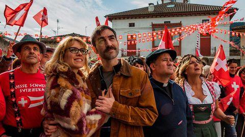 la pequeña suiza 2019, con maggie civantos, jon plazaola y secun de la rosa