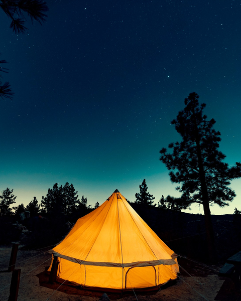 campd out joshua tree best glamping destinations