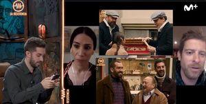 David Broncano, Grison, Ricardo Castella y Jorge Ponce, de 'La Resistencia', en 'Amar es para siempre'.